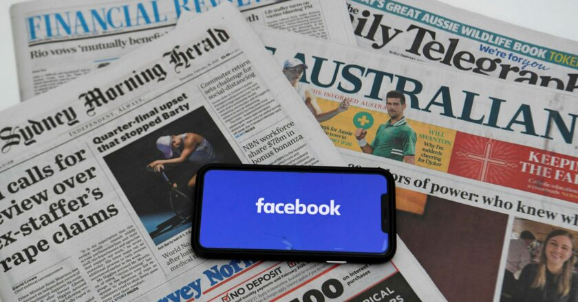 Facebook සමාගම පැනවූ තහනම ඔස්ට්රේලියාව හෙළා දකී
