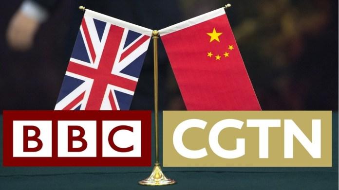 BBC තහනමට ප්රතිචාර ලෙස චීනයේ CGTN රටවල් කිහිපයක තහනම්